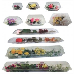 Clear Floral Boxes