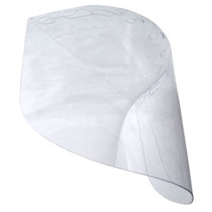 PET Plastic Face Shield by Curtis Wagner Plastics