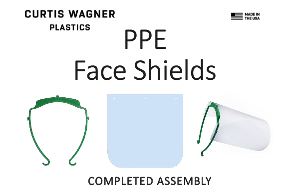 Purchase PPE Face Shields & Head Bands - Made in the USA